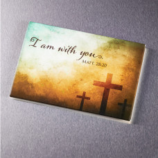 I Am With You Magnet - Matthew 28:20
