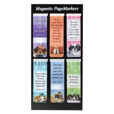 Puppies Magnetic Bookmark Set