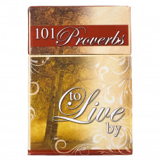 101 Proverbs to Live By - Box of Blessings