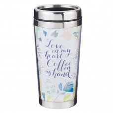 Love in My Heart Polymer Travel Mug