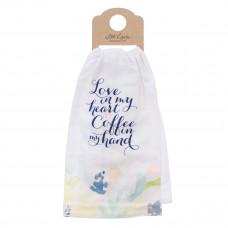 Love in My Heart Cotton Tea Towel