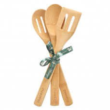 Thankful, Grateful, Blessed Bamboo Spoon Set