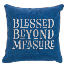 Blessed Beyond Measure Square Cushion