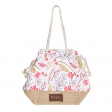 Blessed Canvas Tote with Rope Handles