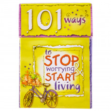 101 Ways to Stop Worrying & Start Living - Box of Blessings