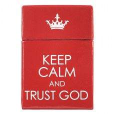 Keep Calm & Trust God - Box of Blessings