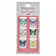 Butterfly Blessings Magnetic Bookmark Set
