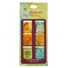 God Gives Peace Magnetic Bookmark Set