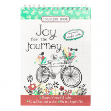Joy for the Journey Wirebound Colouring Book