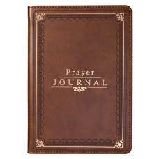 The Lord's Prayer Faux Leather Prayer Journal - Matthew 6: 9-13