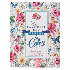 My Favorite KJV Verses Colouring Book