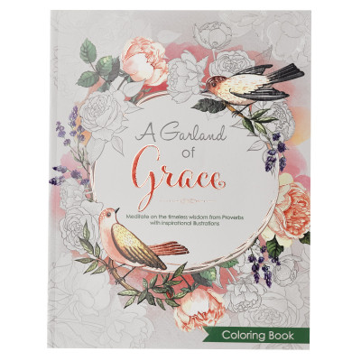A Garland of Grace Colouring Book - Proverbs