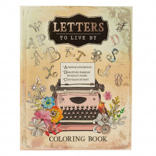 Letters to Live By Colouring Book