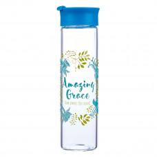 Amazing Grace Glass Water Bottle