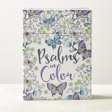 Psalms in Color Colouring Cards