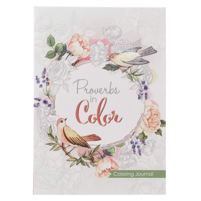 Colouring Journal - Proverbs in Colour
