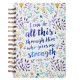I Can Do All This Large Wirebound Hardcover Journal - Philippians 4:13