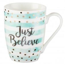 Just Believe Ceramic Mug - Mark 5:36