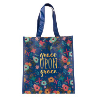 Grace upon Grace Shopping Bag - John 1:16