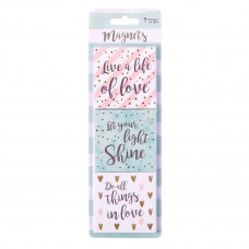Live a Life of Love Magnet Set