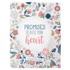 Promises to Bless Your Heart Colouring Book