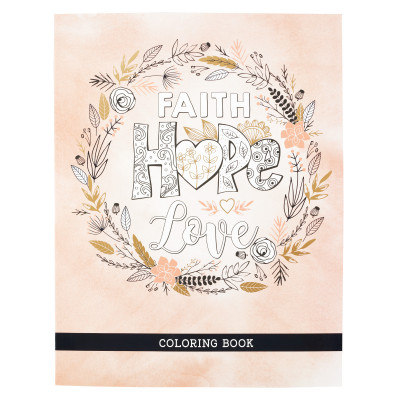Faith Hope Love Colouring Book