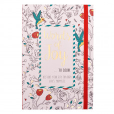 Words of Joy to Color Colouring Book