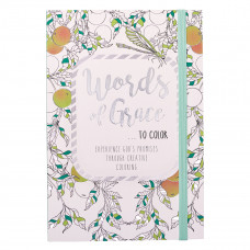 Words of Grace to Color Colouring Book