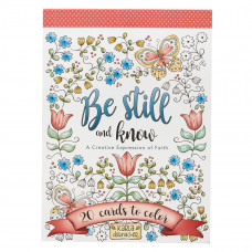 Be Still and Know Colouring Cards