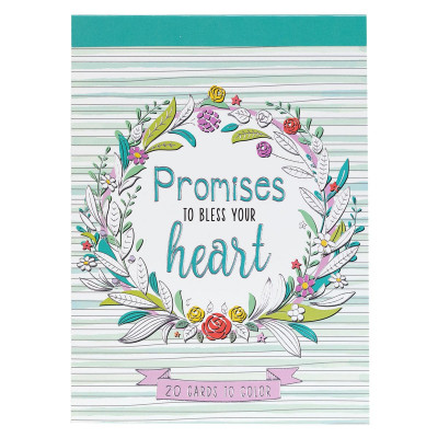 Promises to Bless Your Heart Colouring Cards