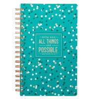 All things Are Possible Wirebound Journal
