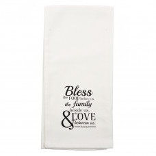 Bless the Food Before Us Tea Towel