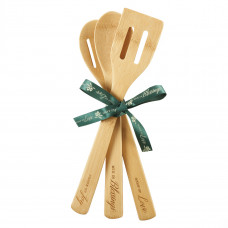 Love, Blessings, Joy Bamboo Spoon Set