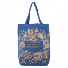 Strength & Dignity Canvas Tote Bag - Proverbs 31:25