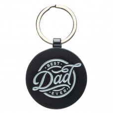 Best Dad Ever Keyring in Tin