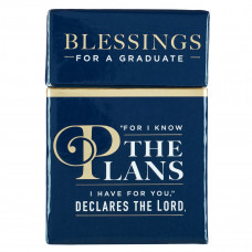 For I Know the Plans Jeremiah 29:11 - Box of Blessings