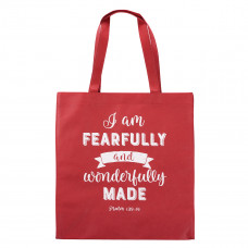 Fearfully And Wonderfully Made Tote Bag - Psalm 139:14