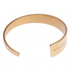 Tapered Cross Cuff Bracelet