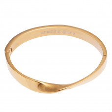 Twist Hinge Cuff Bracelet - Amazing Grace