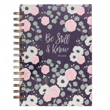 Be Still & Know Hardcover Wirebound Journal – Psalm 46:10