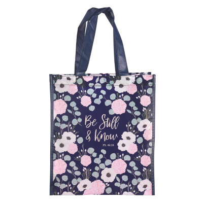 Be Still Shopping Bag – Psalm 46:10