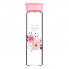 Strength & Dignity Glass Water Bottle – Proverbs 31:25
