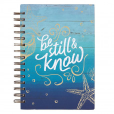 Be Still & Know Large Wirebound Journal - Psalm 46:10