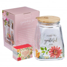 Today I'm Grateful For... Glass Gratitude Jar with Cards