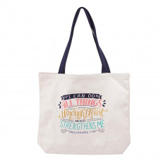 I Can Do All Things Canvas Tote Bag - Philippians 4:13