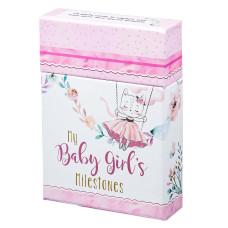 My Baby Girl's Milestone Cards