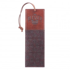 Blessed Man Two-Tone Faux Leather Bookmark - Jeremiah 17:7