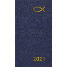 2021 Diary In Blue