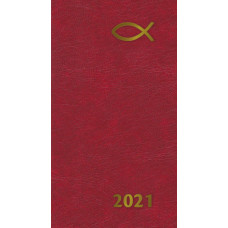 2021 Diary In Red