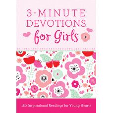 Three Minute Devotions For Girls
